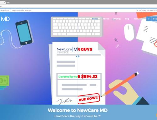NewCare MD Website